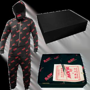 Buy RAW BLACK Hoodie And ONE Suite
