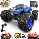 Buy RC Cars 1:10 Scale RTR 46km/h High Speed Remote Control  Monster Truck Terrain