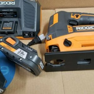Buy RIDGID R8832 18-Volt OCTANE Cordless Brushless Jig Saw + 2 battery and charger