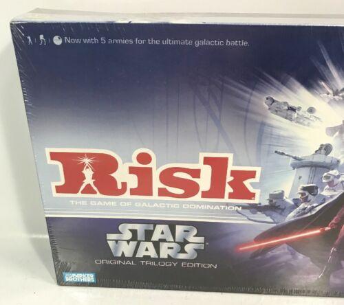 Buy RISK - Star Wars Original Trilogy Edition Game Saga Collection  2006  NEW SEALED