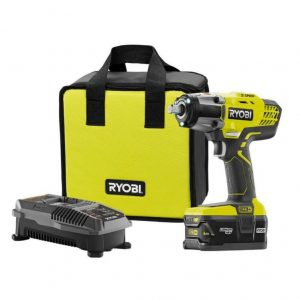 Buy RYOBI 18-Volt ONE+ Lithium-Ion Cordless 3-Speed 1/2 in. Impact Wrench Kit