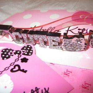 Buy Rare Sanrio Hello Kitty Phone Bag Charm CUTE Bling  Rhinestones - Hang Tag