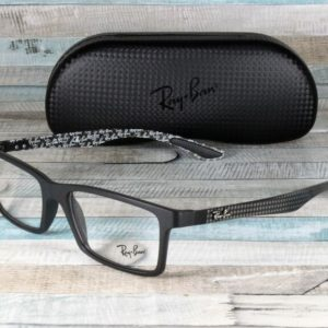 Buy RayBan RX8901-5263 DEMI GLOSS BLACK demo lens 53 mm Men's Eyeglasses