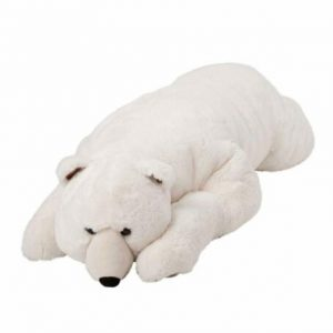 Buy Realistic Large Polar Bear Stuffed Toy Body Pillow Weighted Animal Plush Teddy