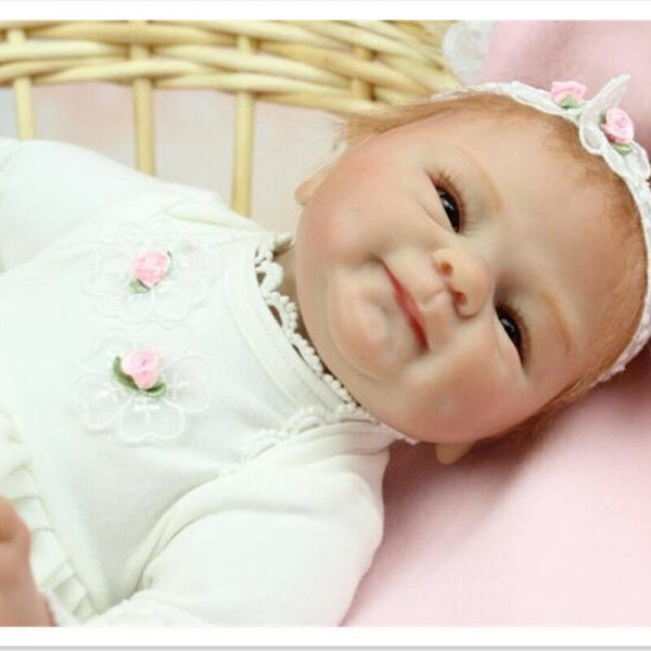 Buy Realistic Silicone Reborn Dolls Stuffed Plush Toys for Kids Birthday Gift New