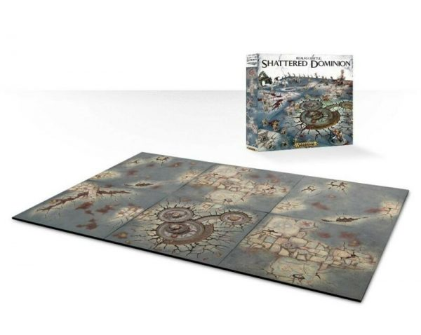 Buy Realm of Battle Shattered Dominion Pitch 48 x 78 Inches GW Age of Sigmar