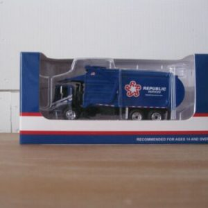 Buy Republic Services Front End Load Garbage Truck First Gear  #80-0325 1:87 Scale
