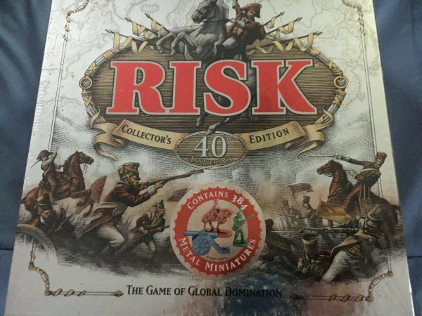 Buy Risk Collector's Edition 40th Anniversary Game (Still Sealed)