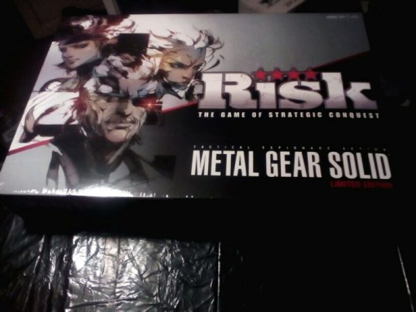 Buy Risk - Metal Gear Solid (Limited Edition) In Factory Seal - Set # 647 of 2014