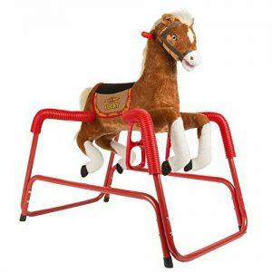 Buy Rockin' Rider Lucky Talking Plush Spring Horse
