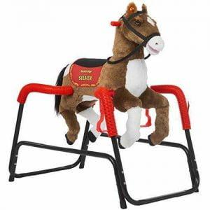Buy Rockin' Rider Silver Spring Horse, Brown