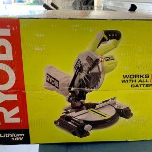 Buy Ryobi 18-Volt ONE+ 7-1/4 in. Cordless Miter Saw w/ Laser P551 (BARE) NEW IN BOX