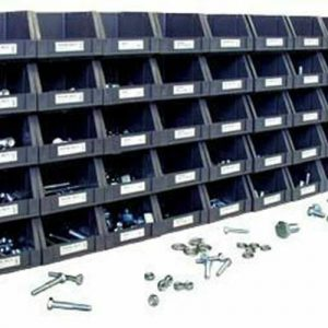 Buy SAE Cap Screw Nut and Bolt Hardware Fastener Assortment with Bins and Labels