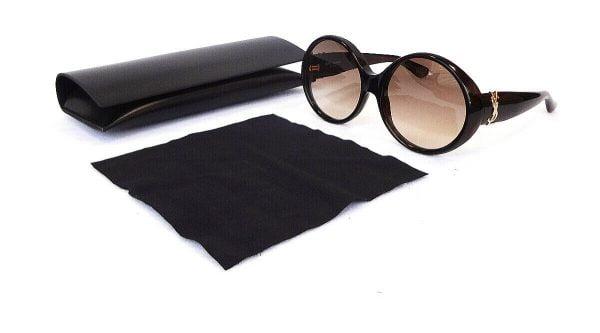 Buy SAINT LAURENT Women's Sunglasses SL M1 005 140 Round Havana MADE IN ITALY - New