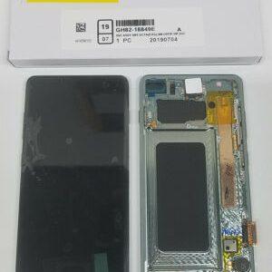Buy SAMSUNG Galaxy S10+ GREEN Original LCD SM-G975F Touchscreen+Digitizer+Frame OEM