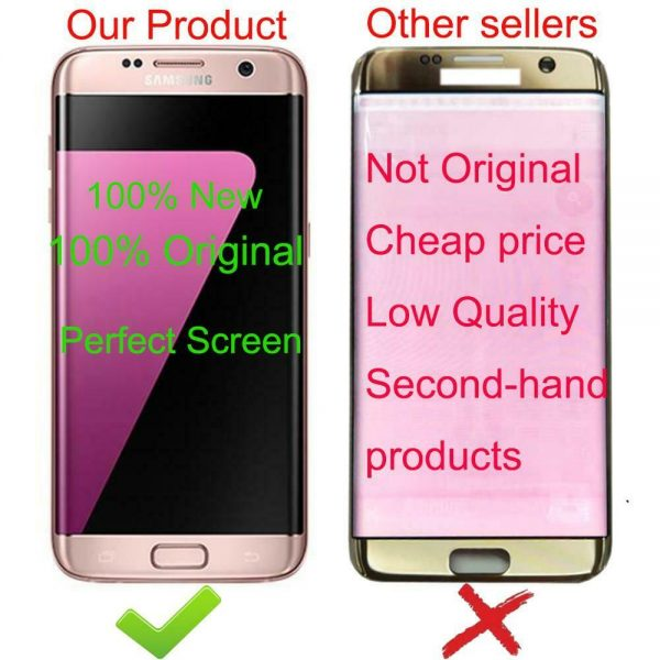 Buy SAMSUNG Galaxy s7 edge G935 G935F Touch Screen Digitizer Display Service Pack