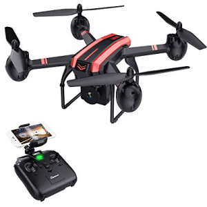 Buy SANROCK X105W Drones with Camera for Adults 720P HD WiFi Real-time Video Feed.