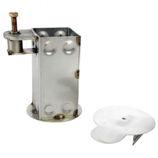 Buy S.R. Smith 300-6200L Locking Square Deck Anchor with Cap