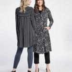 Buy SYMPLI Button Front Black Ivory Graphite Go To Shirt Varied Stripe 8 16 NWT $210