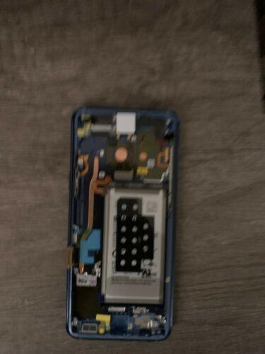 Buy Samsung Galaxy 9 Blue Oem Dispaly + Frame + Battery Sphg960