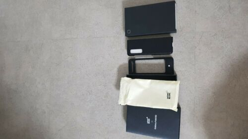 Buy Samsung Galaxy Fold MONTBLANC Sartorial Leather Case Limited Case DHL Shipping