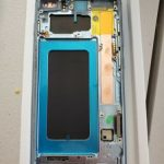 Buy Samsung Galaxy S10 Plus OLED With Frame Screen Replacement OEM SM-G975F BLUE