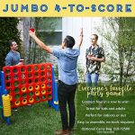 Buy Score Game Set  Giant Sized Family Game Connect 4 Design Game Room Decor Toy Set