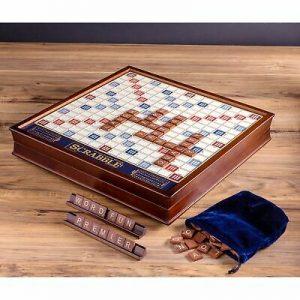 Buy Scrabble Deluxe Edition