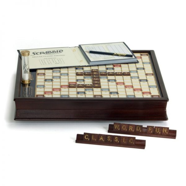 Buy Scrabble Game Deluxe Wooden Edition