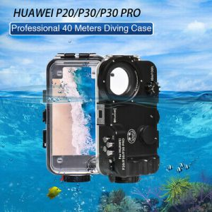 Buy Seafrogs For Huawei P20/P30/P30 Pro Waterproof Housing Underwater Diving 40M