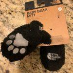 Buy Set The North Face Nuptse One Piece Bunting & Baby Bear Mitt