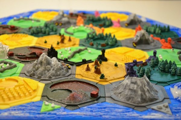 Buy Settlers of Catan 3D Tiles 5-6 players Hand painted