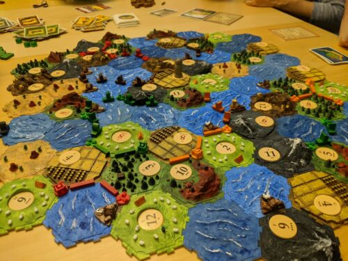 Buy Settlers of Catan and Seafarers Expansion 3D Printed Interlocking Tiles