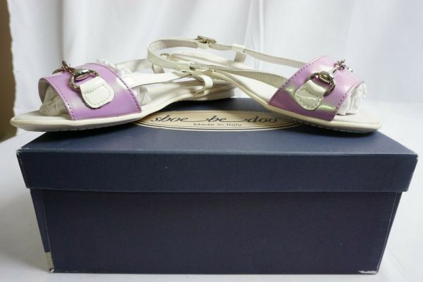 Buy Shoe Bedoo White / Pink Sandals  for Baby Girl - Different Sizes Available - NEW