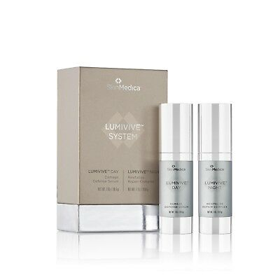 Buy SkinMedica Lumivive Day & Night System 1 oz each bottle 100% Authentic New inBox