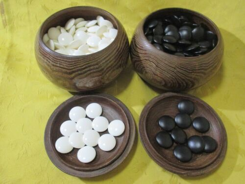 Buy Snow grade go stones size28 made in Huga, Japan with go bowls Igo