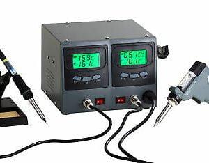 Buy Soldering + Desoldering Rework Station Digital Temperature Controlled ZD987