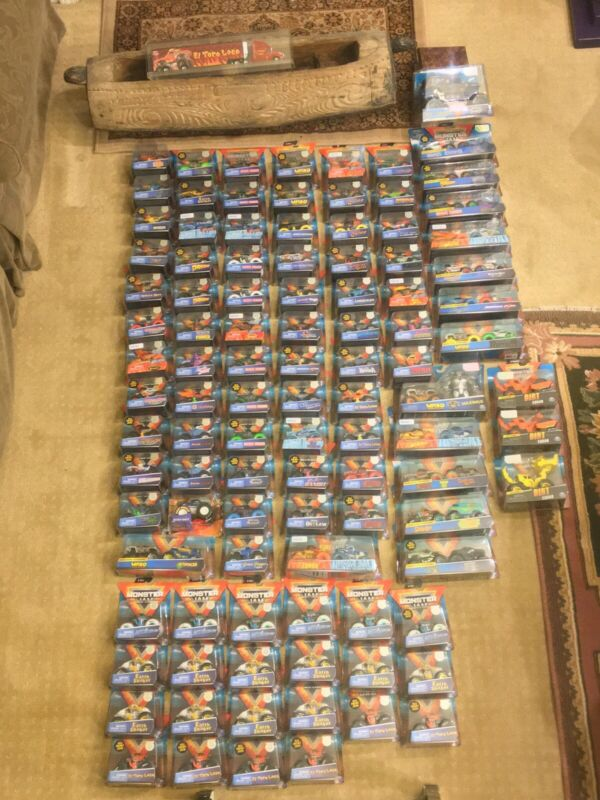Buy Spin Master Monster Jam LOT Of 120 (22 Chase  Trainer Trucks)