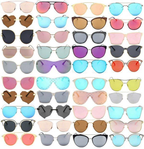 Buy Sunglasses Women's Bulk Lot Wholesale Final Clearance Liquidation Discount UV400