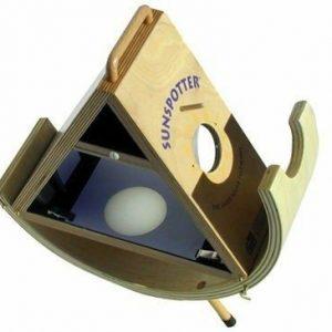 Buy Sunspotter Wooden Folded Keplerian Telescope For Students
