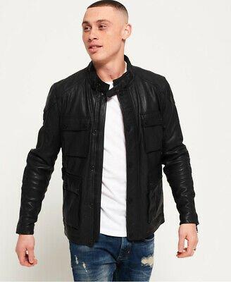 Buy Superdry Leather Rotor Jacket