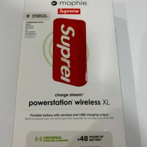 Buy Supreme X Mophie Powerstation Wireless XL 10,000 MAH Red 2019