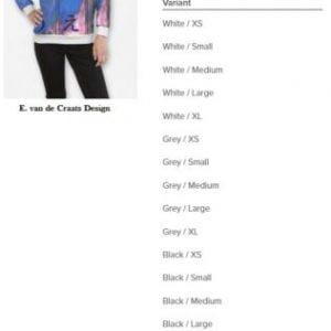 Buy Sweatshirt/E. van de Craats Design