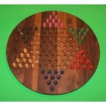 Buy THE PUZZLE-MAN TOYS W-1926 Wooden Marble Game Board - Chinese Checkers  Oiled...