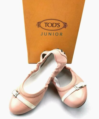 Buy TOD'S Girls Fibbietta Dee Ballet Flats in Lingerie Pink US SZ 2 - BRAND NEW!