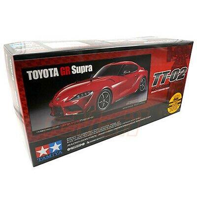 Buy Tamiya 1/10 TT02 Toyota GR Supra 4WD Shaft Drive EP RC Cars Kit w/ESC #58674