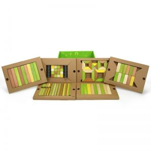 Buy Tegu Magnetic Wooden Blocks Jungle Tones  - 130 Pcs