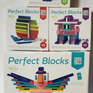 Buy Tegu Piece Perfect Blocks Building Set Bundle