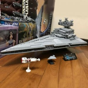 Buy The Imperial Star wars Destroyer ship building blocks set for kids  US seller