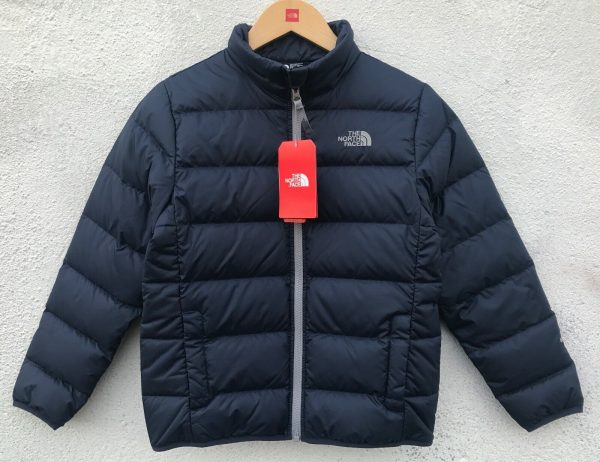 Buy The North Face Boys 550-Fill Down BLUE Jacket $99 Size: M